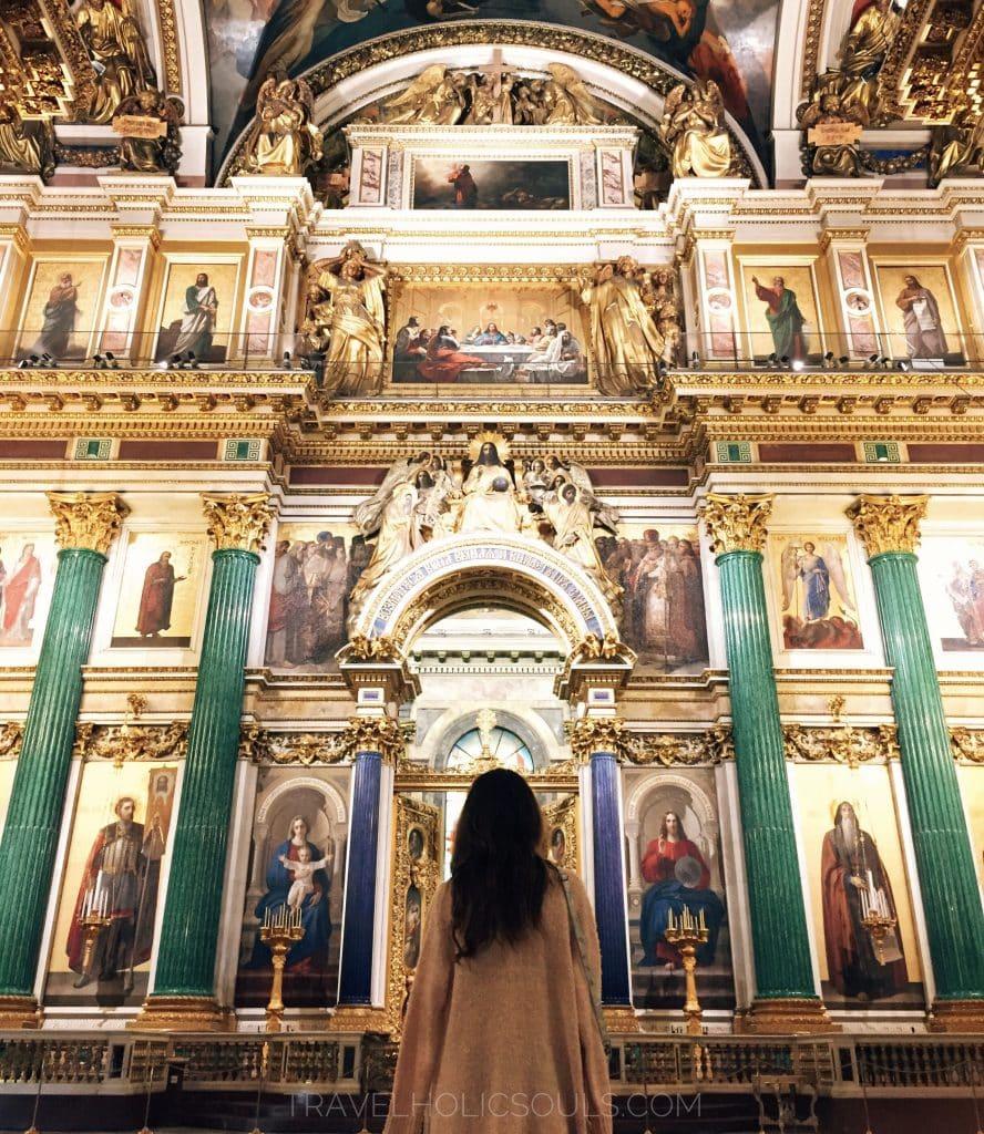 Cattedrale di sant isacco a san pietroburgo