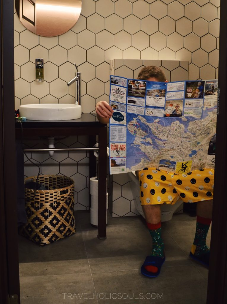 bagno suite Islanda