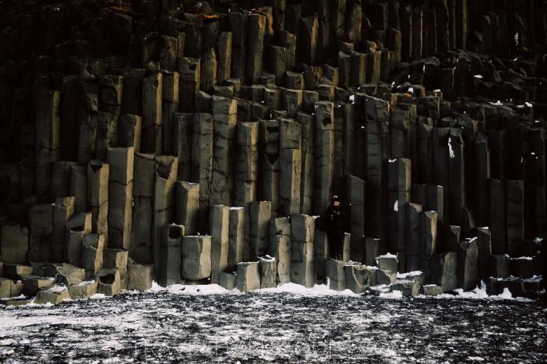 colonne di basalto a Reynisfjara