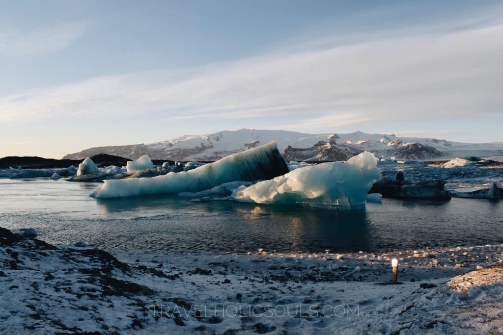 Costa meridionale islanda Glacier Lagoon