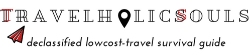 Logo del blog di viaggi Travelholicsouls