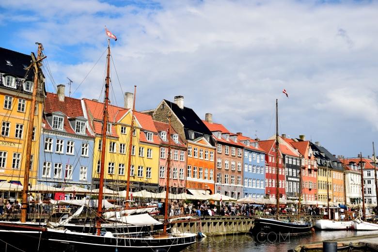 I colori del Nyhavn a Copenaghen