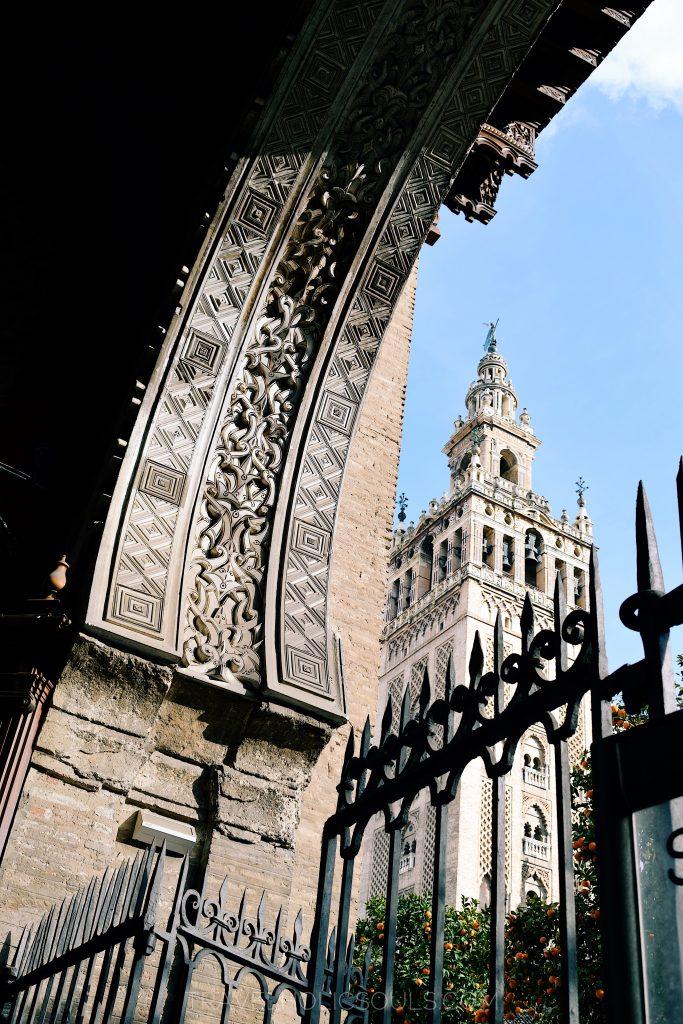 La Giralda a Siviglia