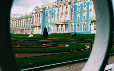 facade catherine palace