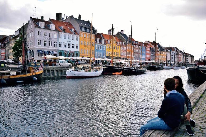 Prospettiva del Nyhavn
