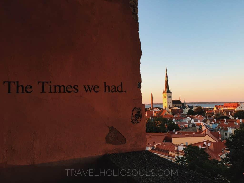 Toompea hill in Tallinn