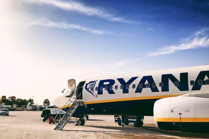 Ryanair aereo voli low cost