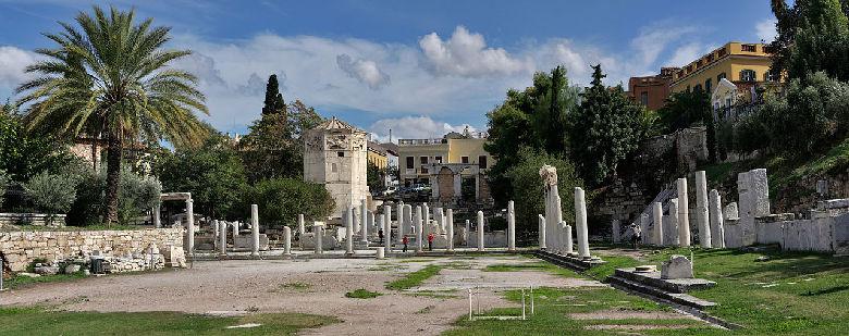 agorà romana atene