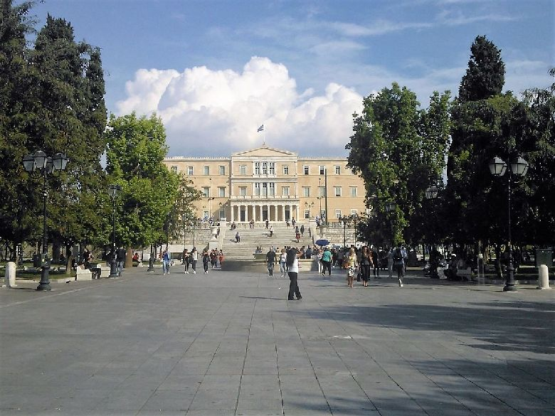 atene syntagma piazza