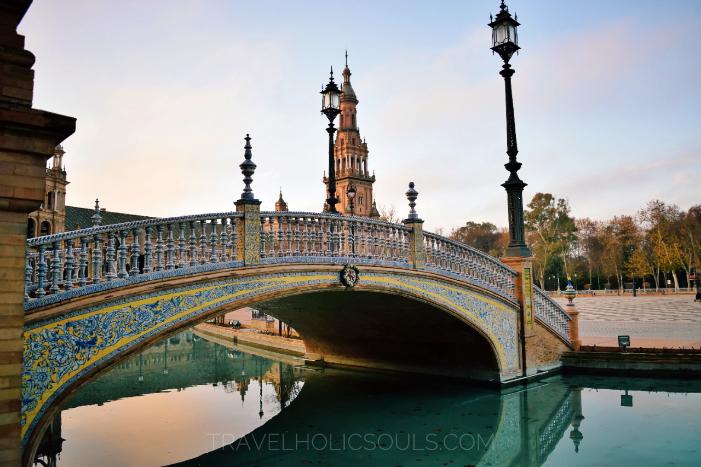 alba piazza di Spagna siviglia