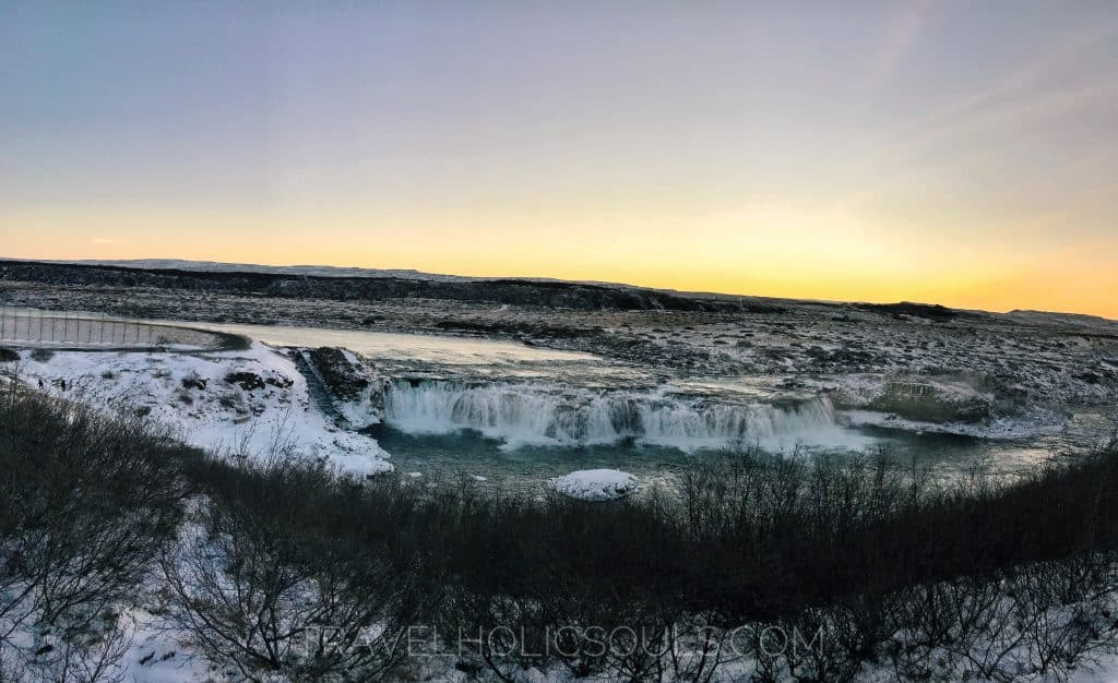 faxi falls Iceland