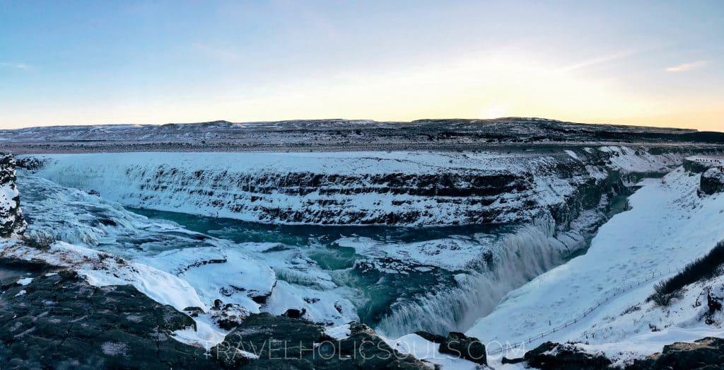 Gullfoss falls Iceland