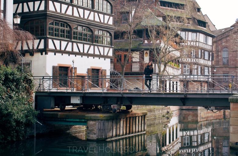 ponte Strasburgo petite France Francia