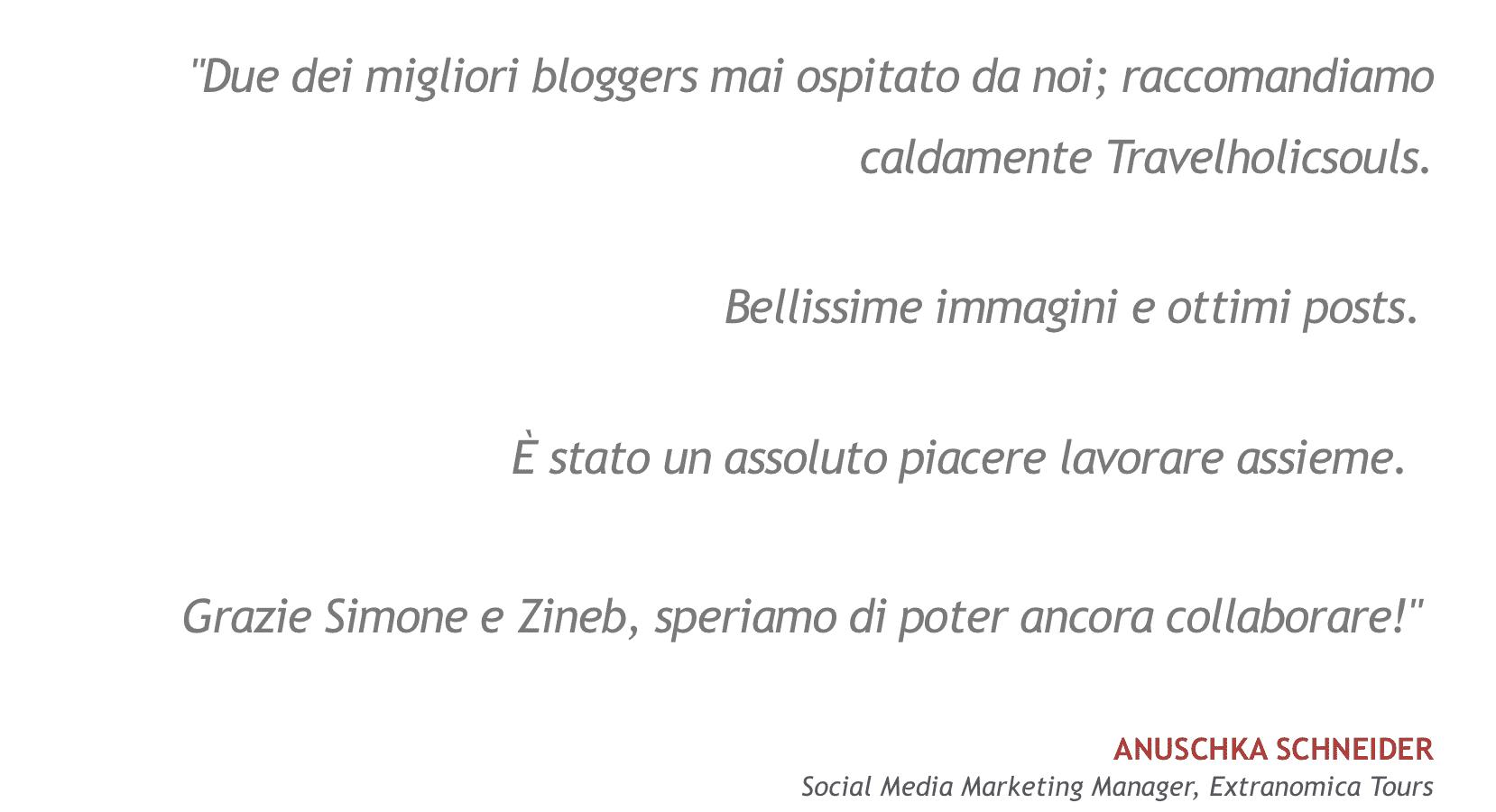 Testimonianza Anuschka-Extranomical