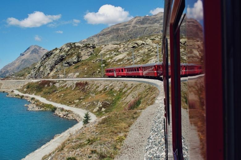 la magia del trenino del Bernina
