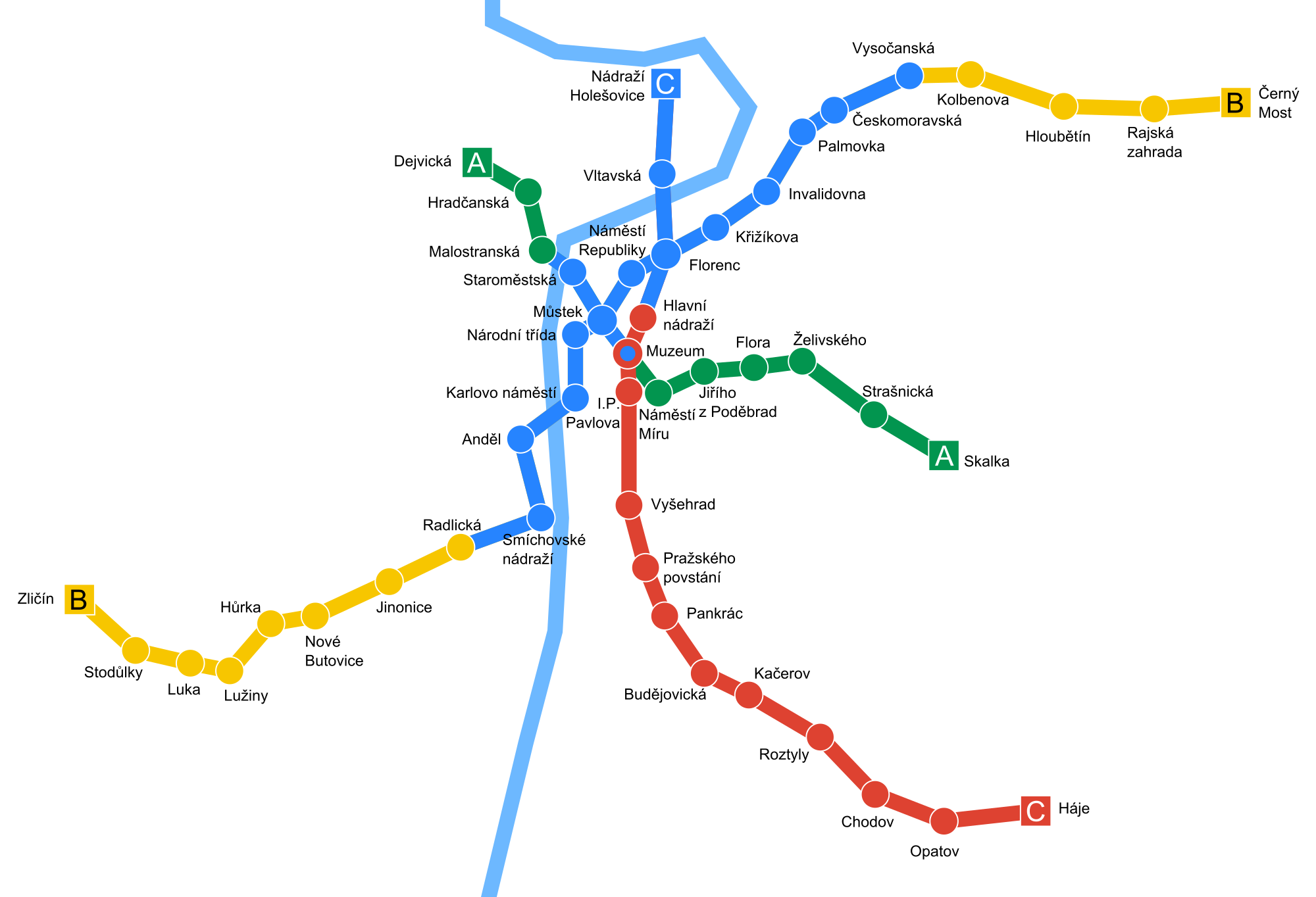 Castina metropolitana Praga