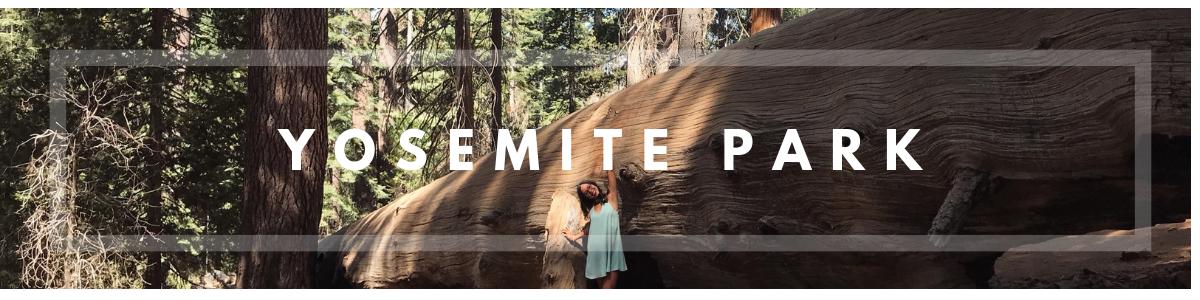 Yosemite park itinerario