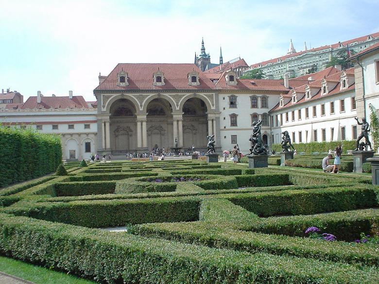 giardino francescani praga