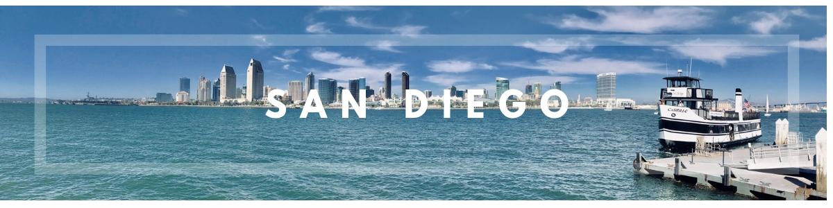 San Diego itinerario