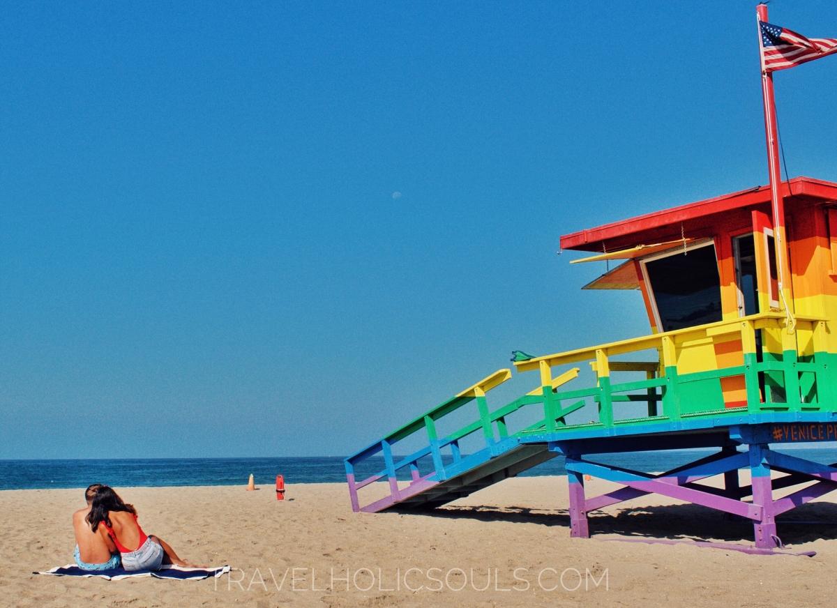 viaggio in california itinerario venice beach