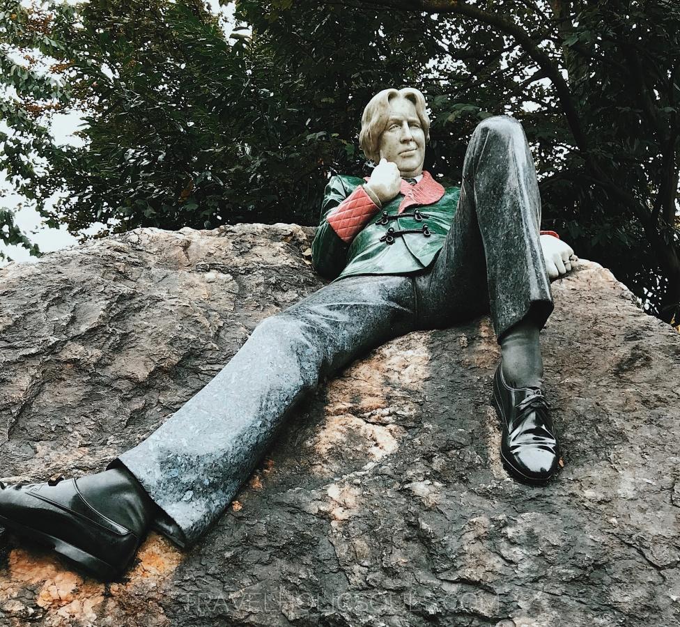 Oscar Wilde statua Dublino