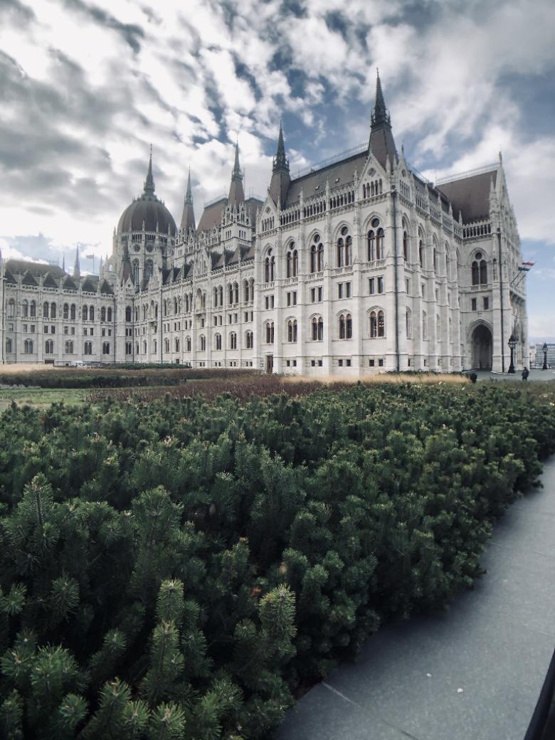 parlamento budapest facciata
