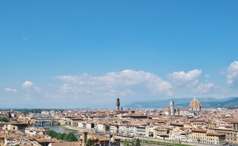 piazzale michelangelo panoramica