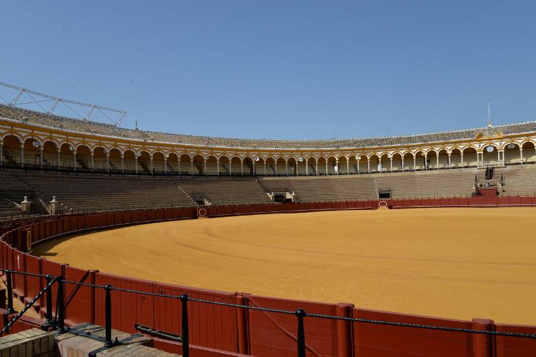 plaza del toro de la maestranza siviglia