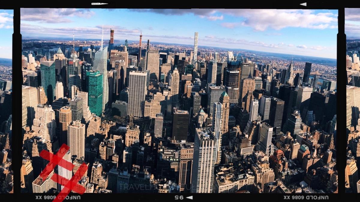 Cosa vedere a New York: vista dall'Empire State Building