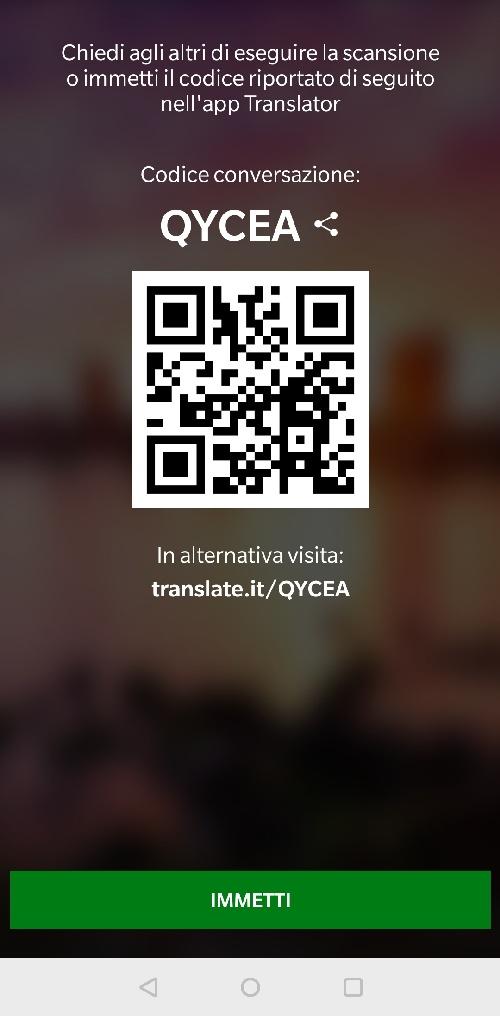 funzione conversazione microsoft traduttore 3