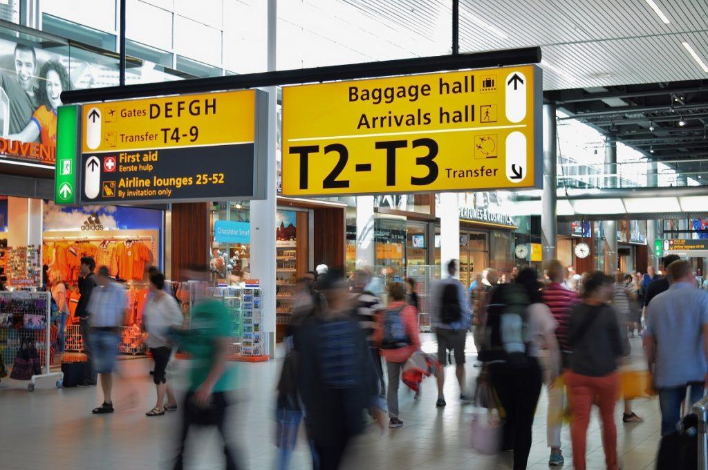 aeroporto, bagaglio wizzair