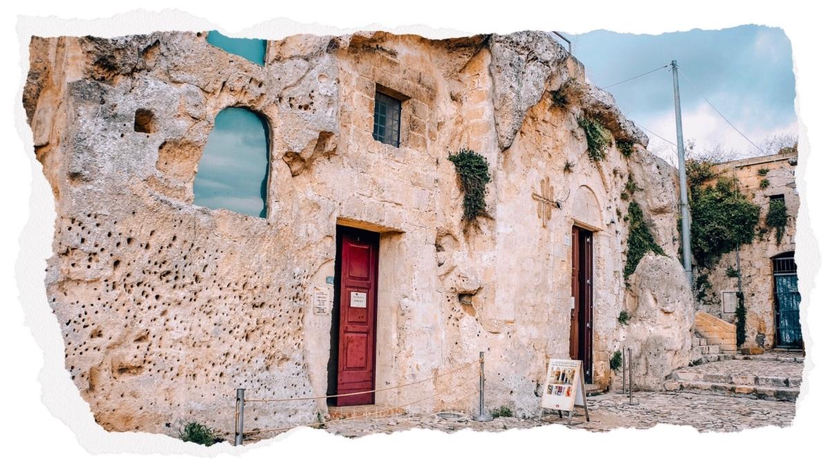 Cosa vedere a Matera: la chiesa rupestre di Santa Lucia
