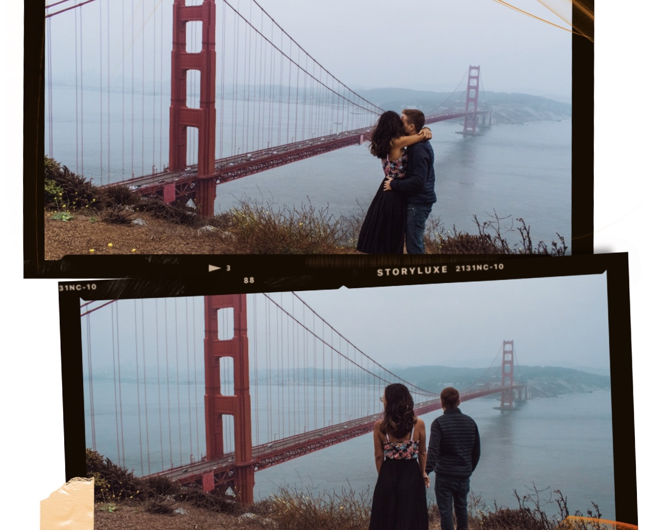 cosa vedere a San Francisco coppia: Golden Gate Bridge