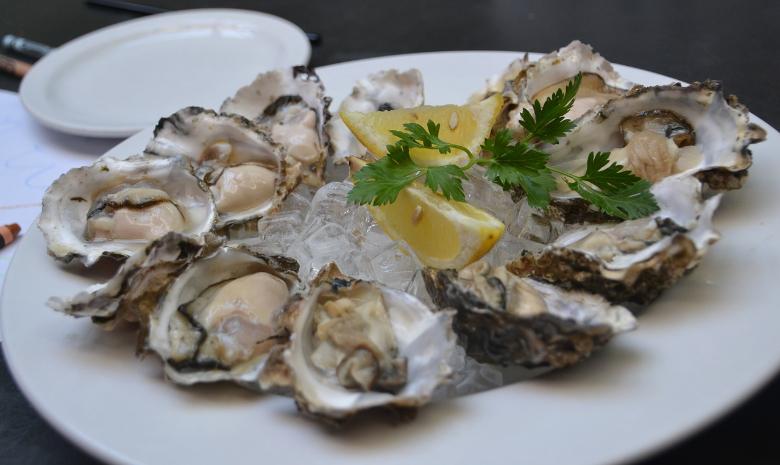 piatto ostriche