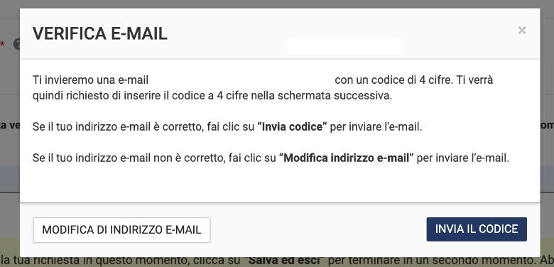 verifica mail