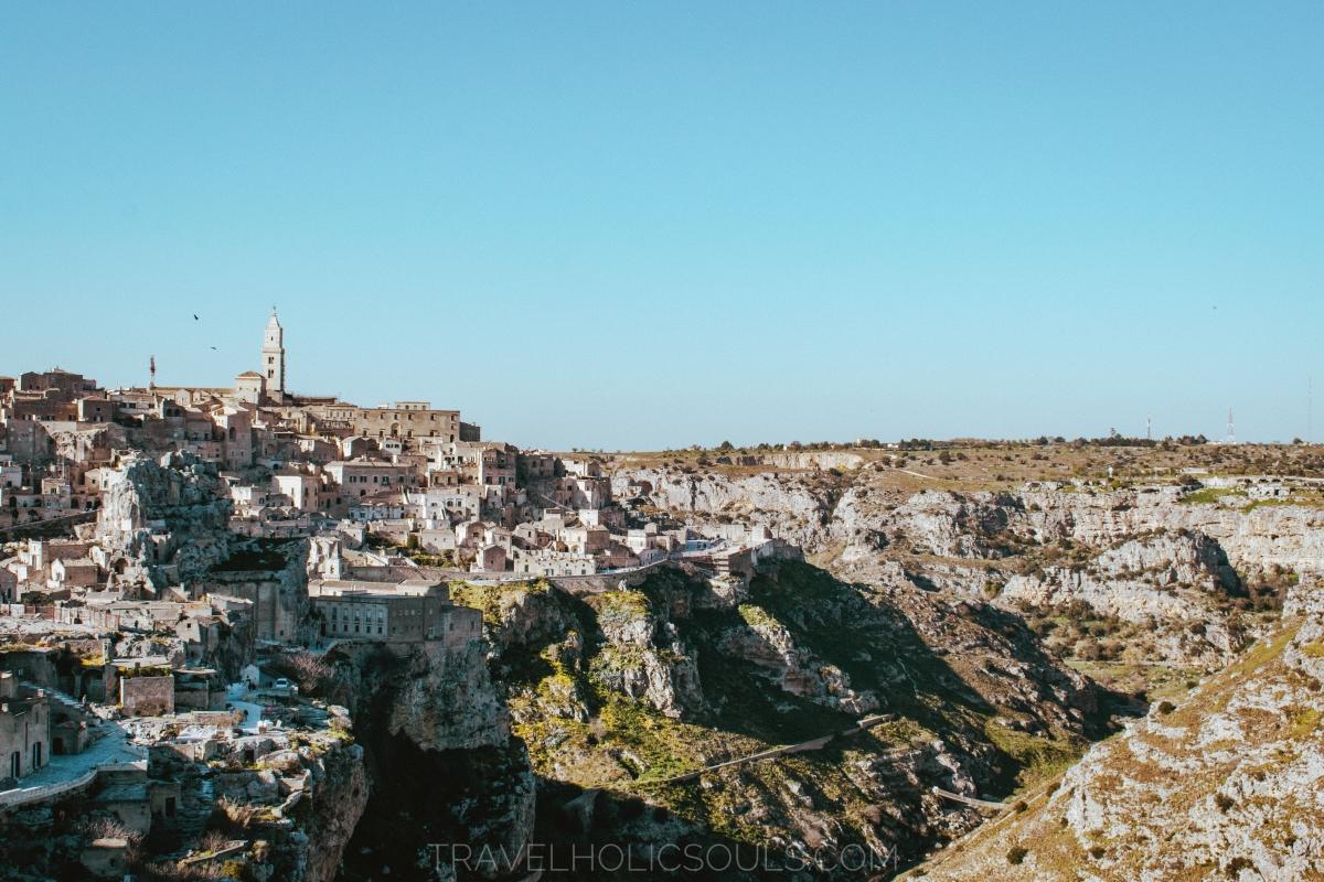 Vista sui sassi di Matera