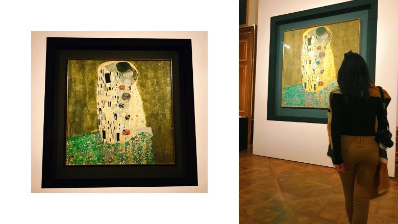 cosa vedere al Belvedere: il bacio di Klimt