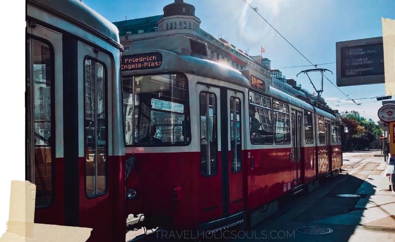 muoversi col tram nel visitare Vienna