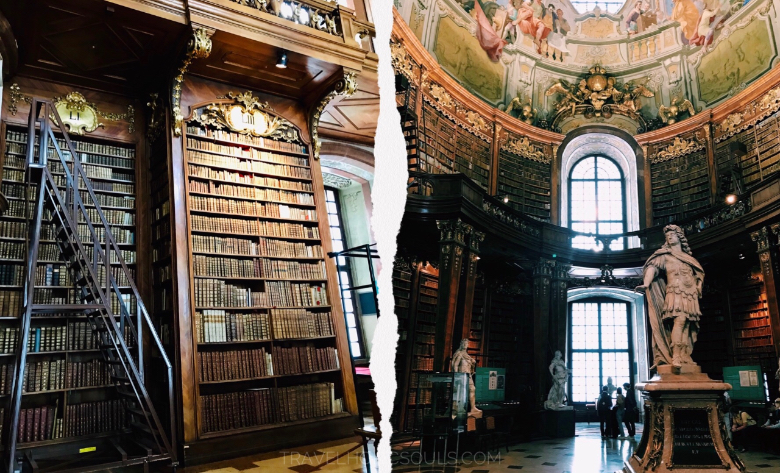 Visitare Vienna: biblioteca nazionale austriaca