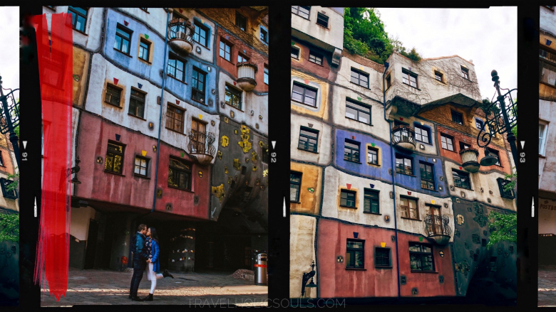 Visitare Vienna: Hunderwasser Haus