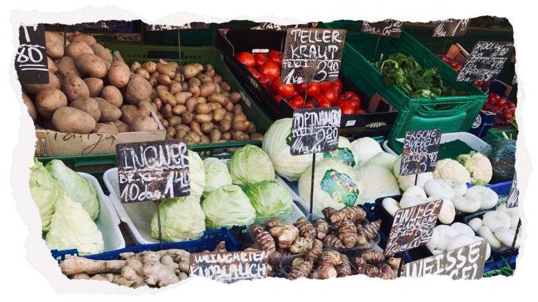 Visitare Vienna: Naschmarkt