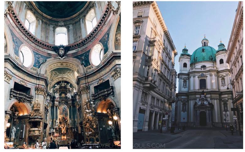 Visitare Vienna: Peterskirche