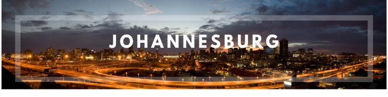 Johannesburg, giorno 1