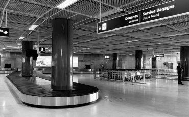 aeroporto, bagaglio smarrito