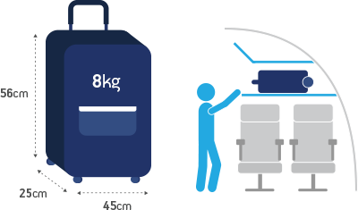 bagaglio a mano aegean