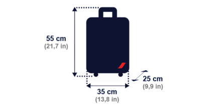 bagaglio a mano airfrancec