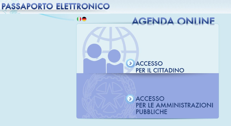 come fare il passaporto elettronico online 1