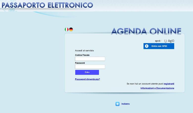 come fare il passaporto elettronico online 2