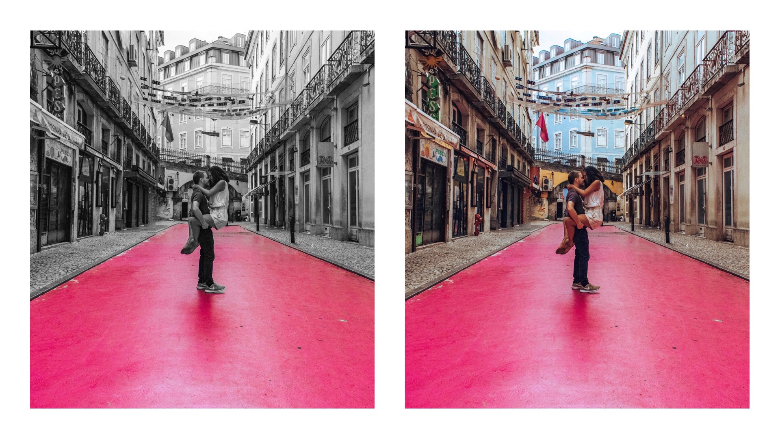cosa vedere a Lisbona: pink street