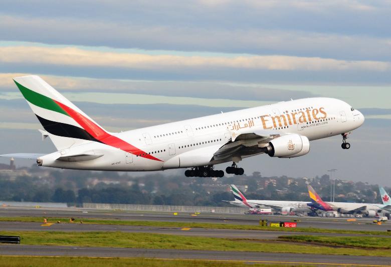 emirates velivolo